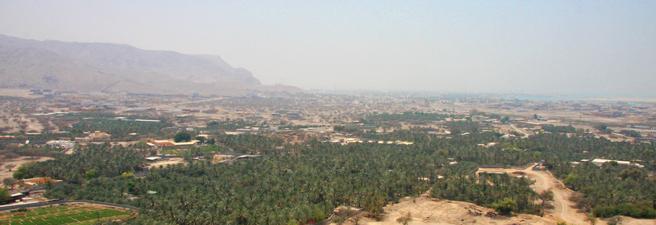 Geografie Ras al Khaimah