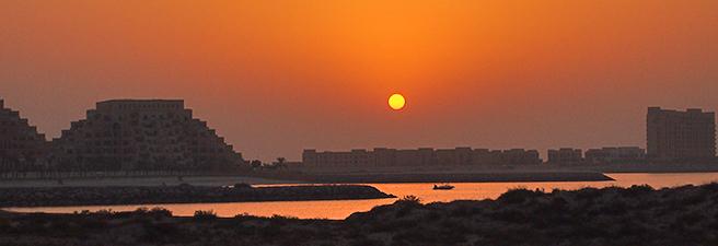 Temperaturen Ras al Khaimah